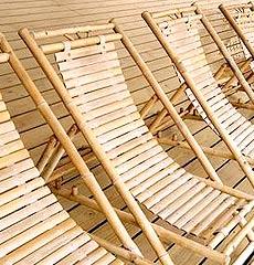 Bambusove kresla