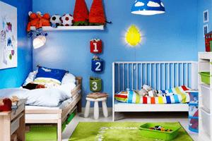 Lacná detská izba