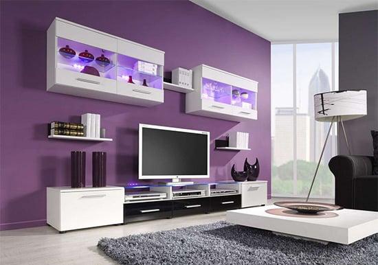 ec1ff037fbed0 Moderné obývacie steny - Nábytok a bývanie