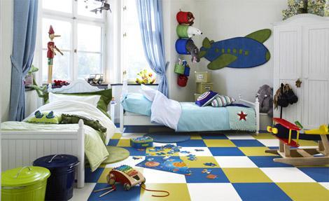 Chlapcenska detska izba - lietadla