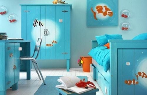 Chlapcenska izba - ryby - nemo