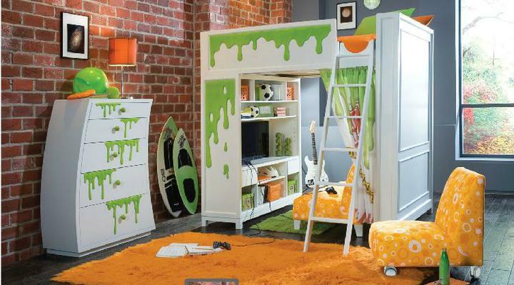 Detska izba pre chlapca - maliar