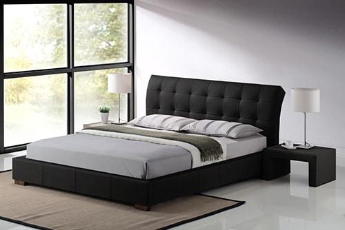 Kozena celocalunena postel