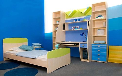 Moderná detska izba - chlapcenska