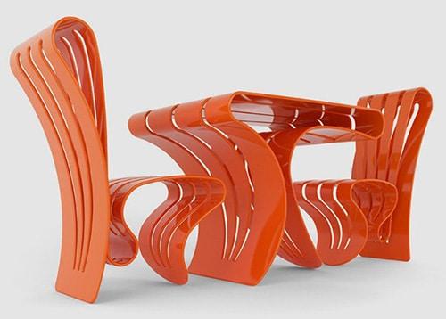 Stylovy plastovy nabytok - moderny