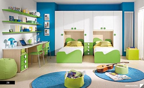 3bb830594093 Detská izba pre dve deti - Nábytok a bývanie