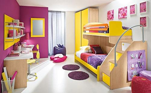 Detska izba pre dve dievcata