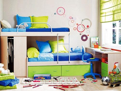Detska izba pre dve deti