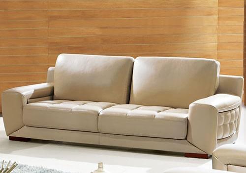 Moderná kožená sedačka