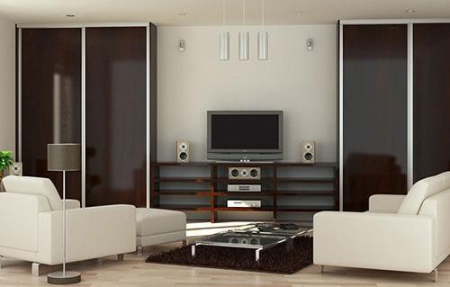 Obývačka - Vstavaná skriňa