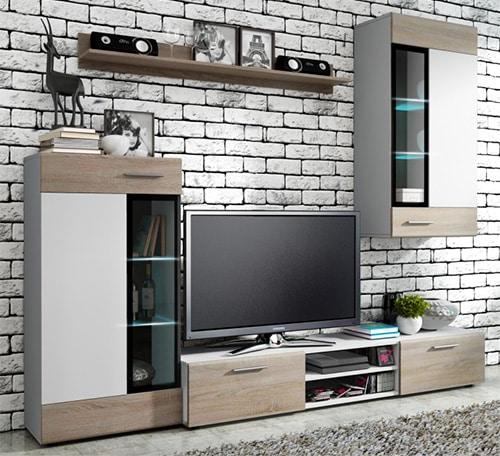 Jednoduchá obývacia stena