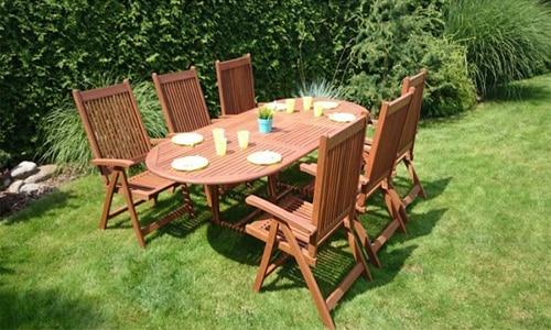 Záhradný nábytok - stôl a stoličky