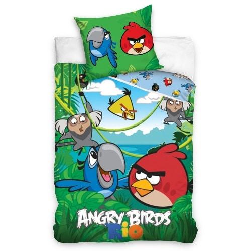 Obliečky Angry Birds