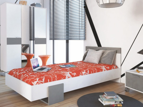 Moderná jednolôžková posteľ