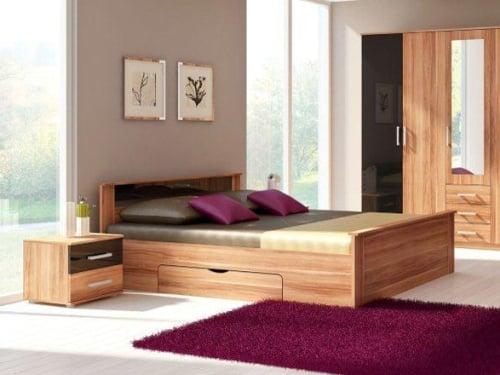 Manželská posteľ do spálne