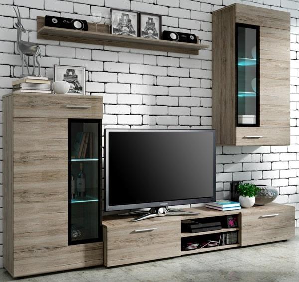 Štýlová obývacia stena