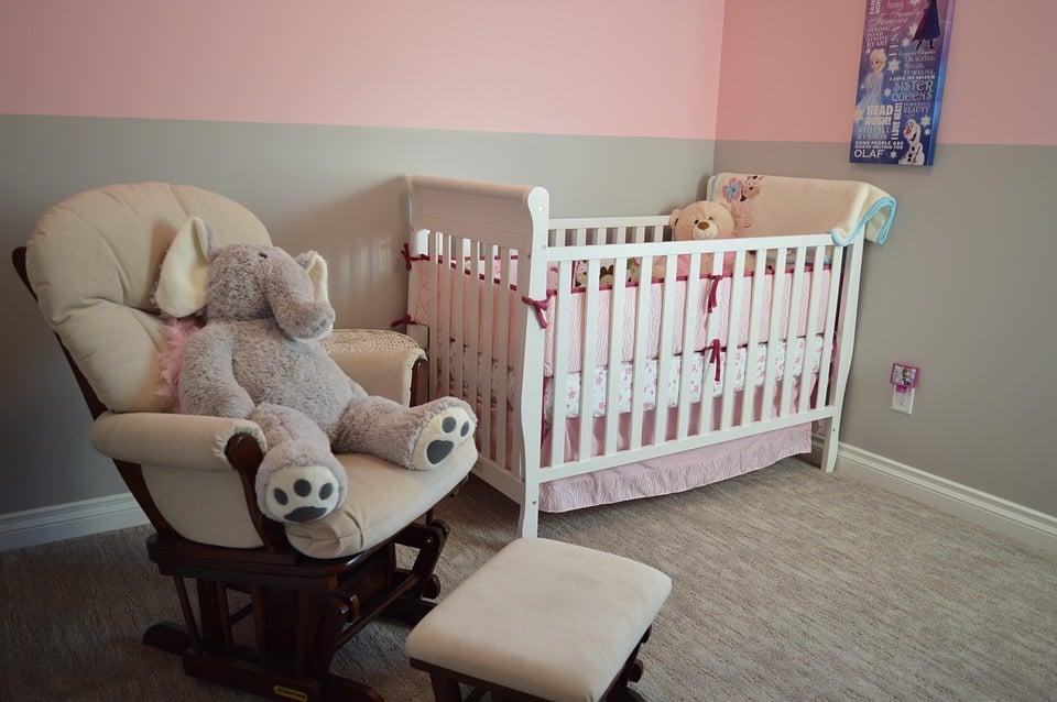Detská izba s postieľkou