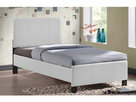 Jednolôžková posteľ - čalúnená