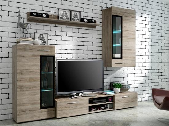Lacná obývacia stena