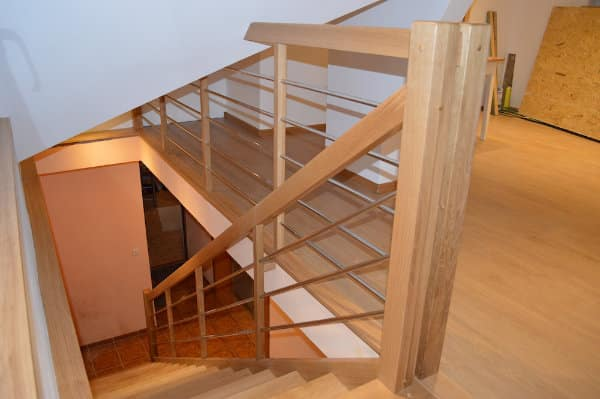 Kvalitné drevené schody