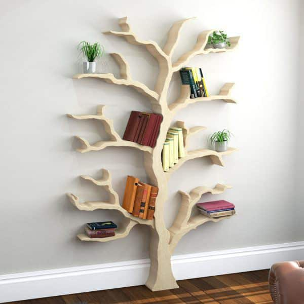 Knižnica v tvare stromu