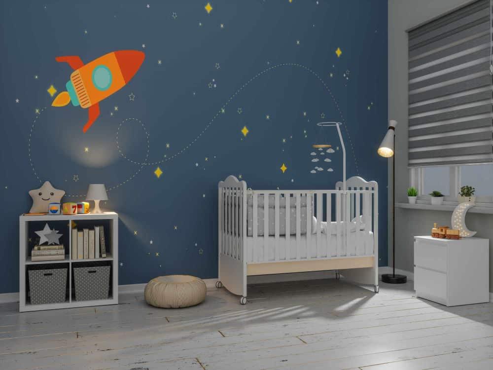 Detská izba pre bábätko - chlapec