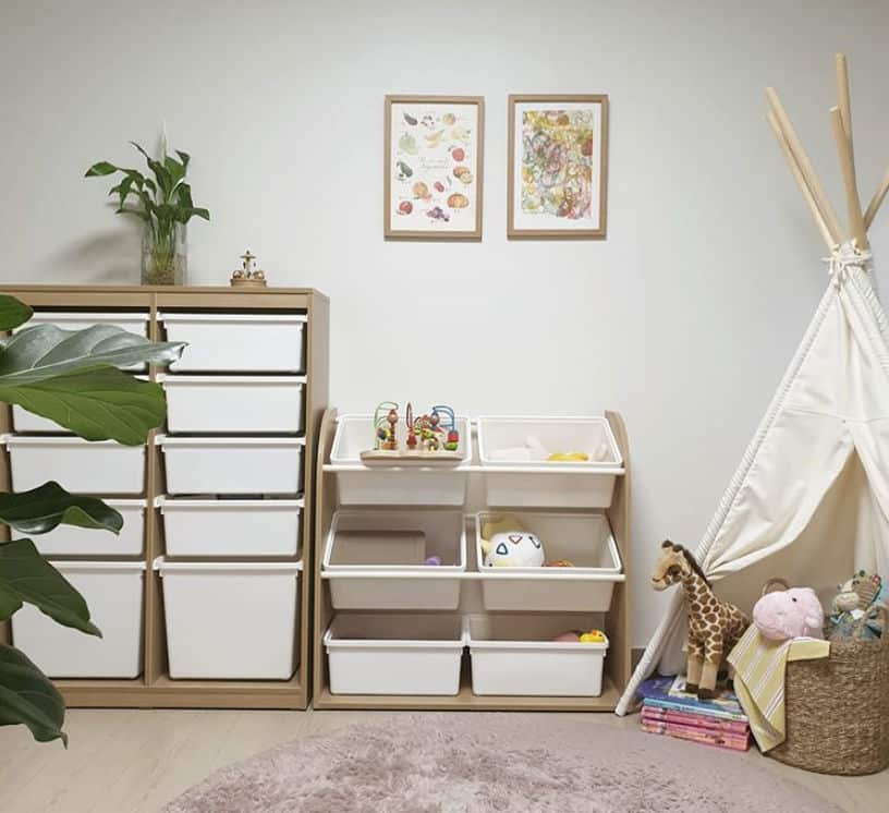 Úložné skrinky do detskej izby
