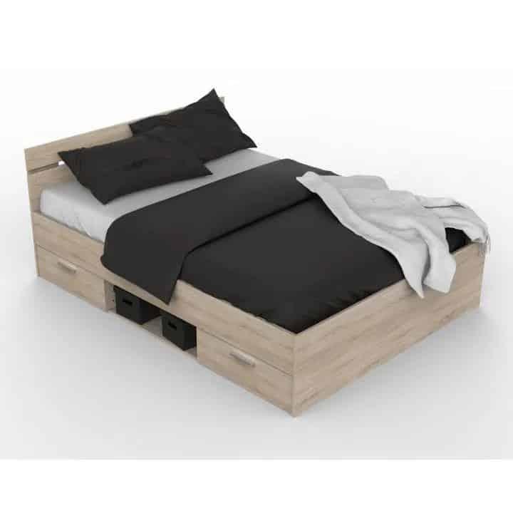 Lacná manželská posteľ